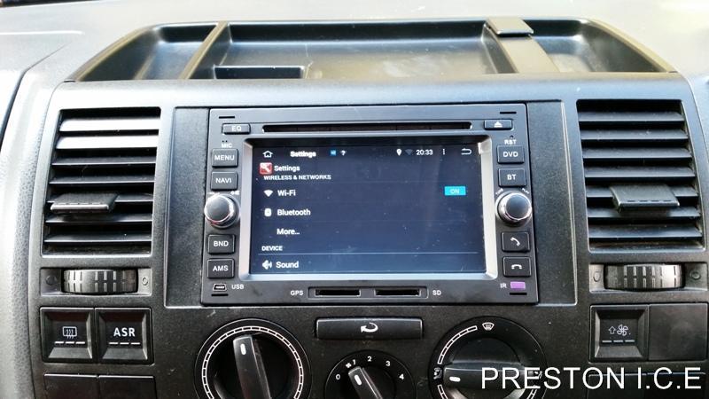 Vw Sat Nav Dvd Player Android 4 4 Car Stereo Transporter