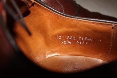 Chili Allen Edmonds Byron Leather Dress Cap Toe Balmoral Oxford Shoe