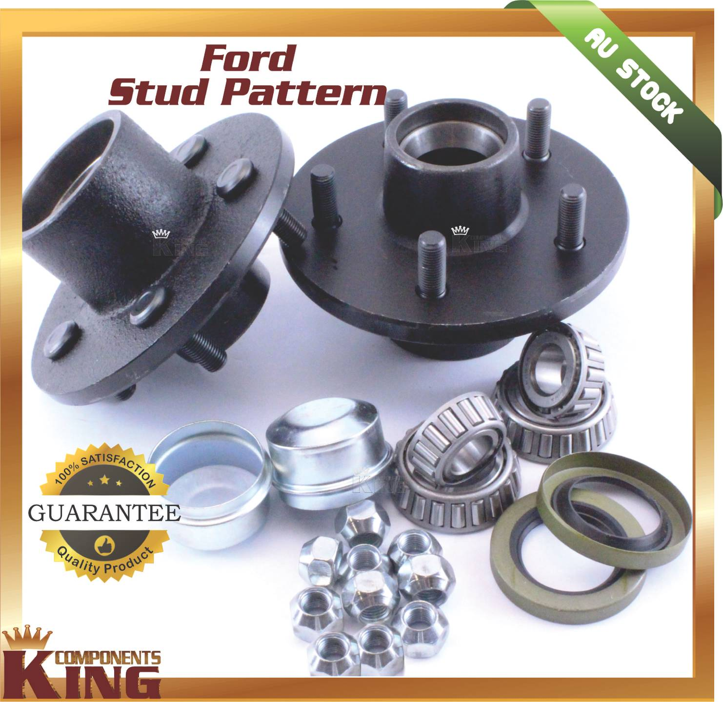 5-STUD-FORD-FIVE-STUD-TRAILER-HUBS-PAIR-WITH-HOLDEN-BEARINGS-TRAILER-PARTS