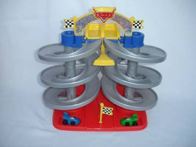 Fisher Price Cars  Spiral Speedway Replacement Cars
