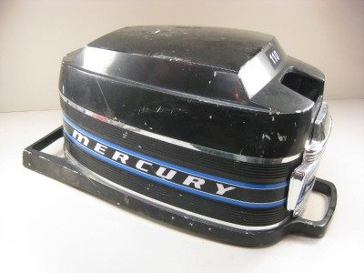 mercury 110 outboard 9 8 hp thunderbolt ignition cover cowl ebay