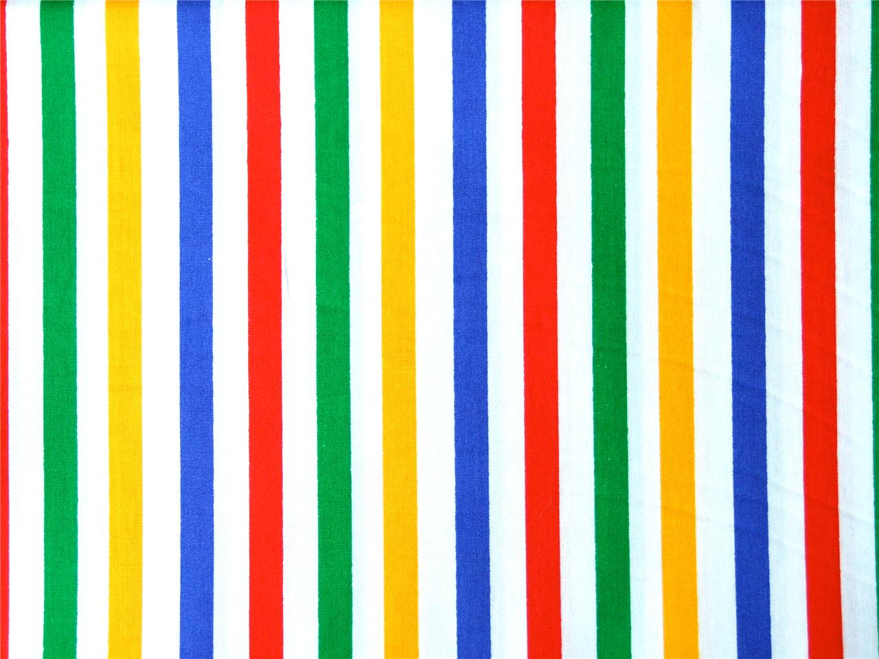 Primary red blue yellow spots stripe circus kids bright for Bright childrens fabric