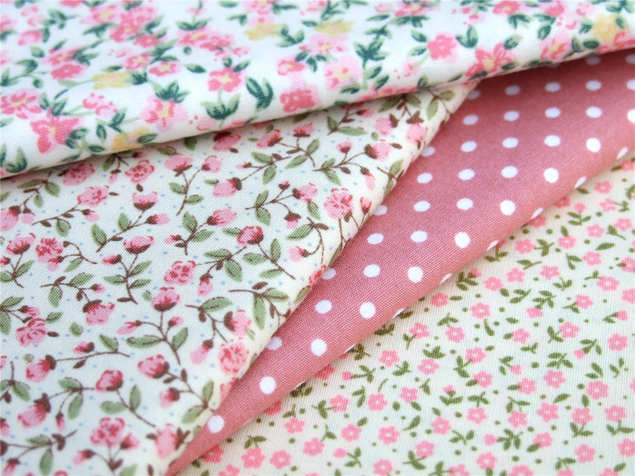 how to make flowers with cotton fabric