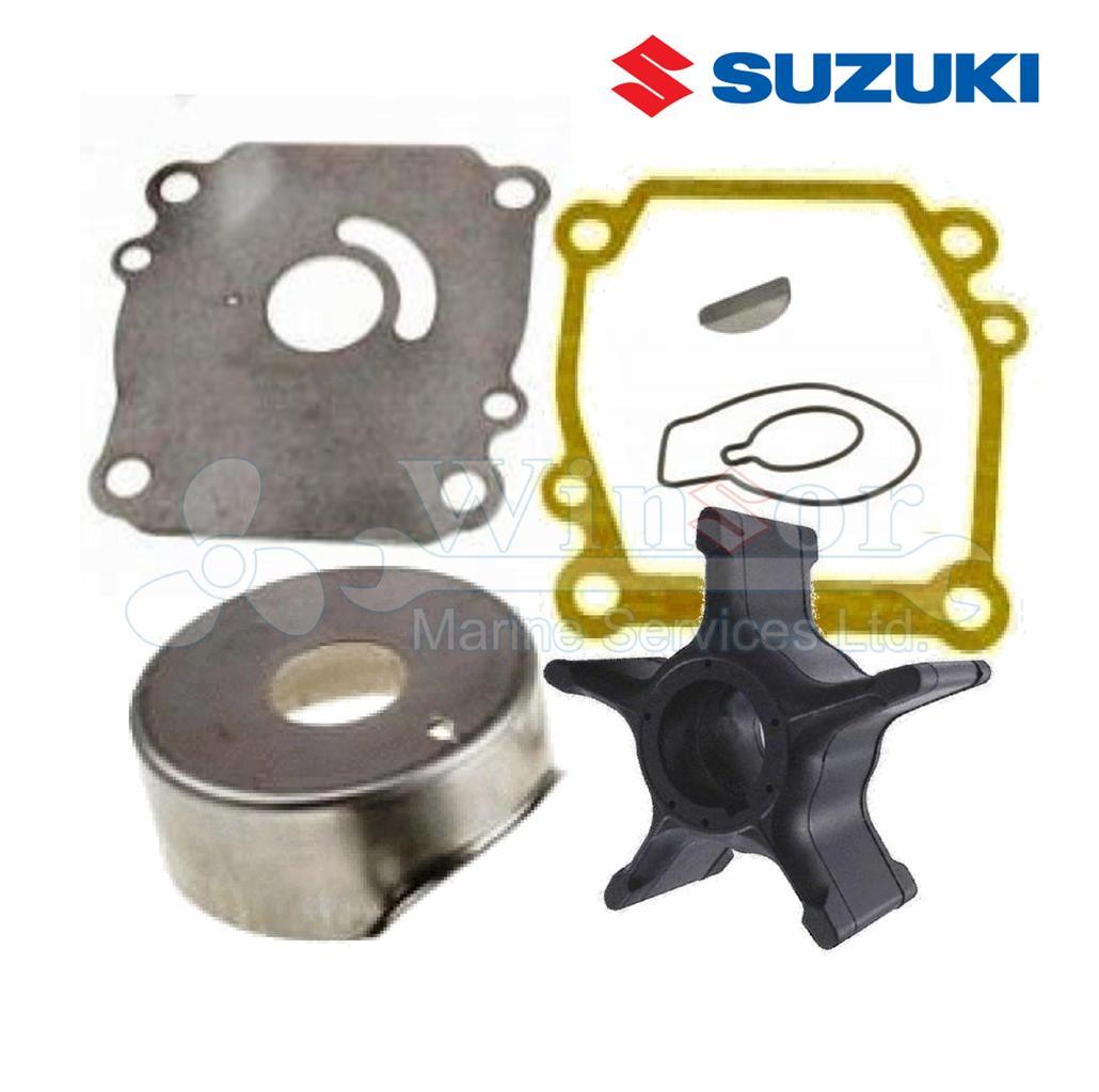 Suzuki outboard engine water pump kit df115 hp 4 for Suzuki 2 5 hp 4 stroke outboard motor