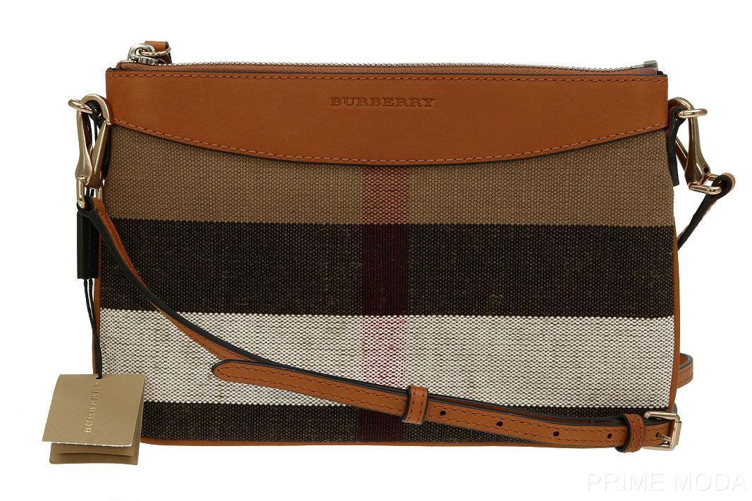 burberry crossbody bag outlet qpy4  NEW BURBERRY PEYTON CANVAS CHECK LEATHER CROSS BODY CLUTCH BAG PURSE  WRISTLET