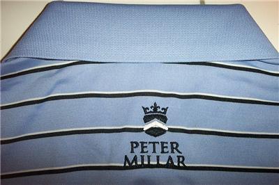 Nwt peter millar titleist golf shirt mens medium uv for Peter millar golf shirts
