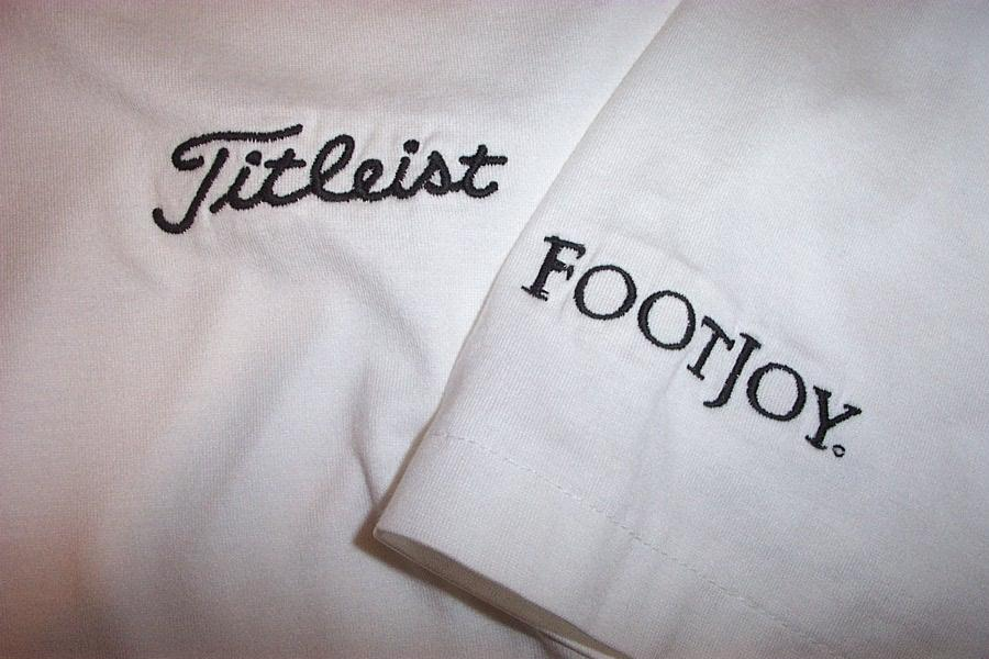 Titleist footjoy golf shirt by byron nelson mens xl white for Footjoy shirts with titleist logo