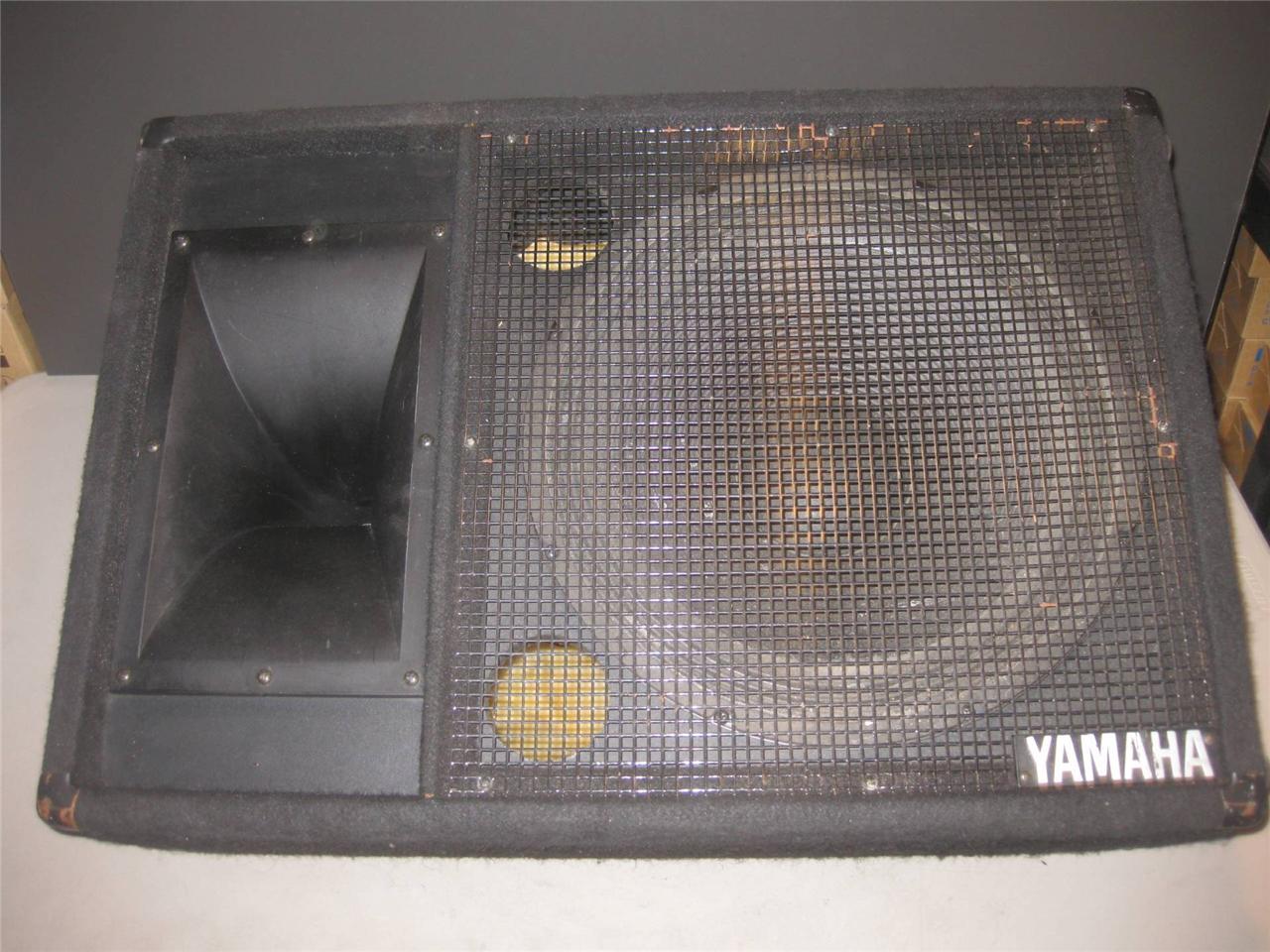 Yamaha club series iii floor monitor sm15111 unpowered for Yamaha stage monitors
