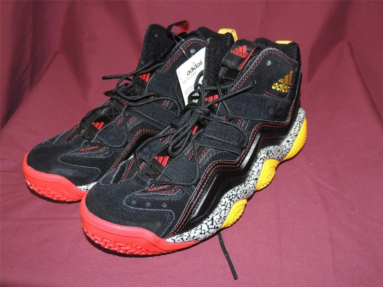 Назва adidas top ten 2000 g07947 basketball shoes black red