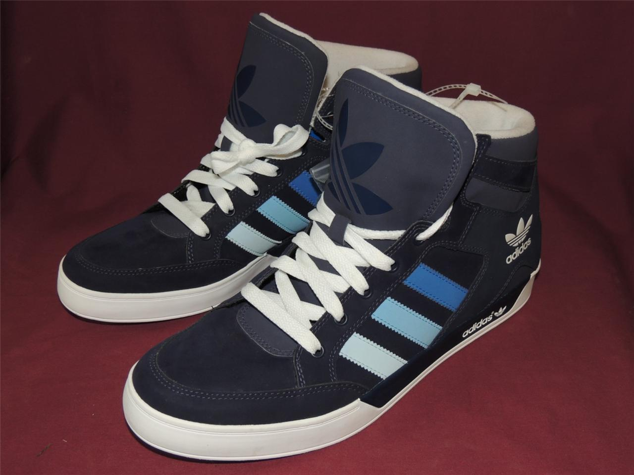 Назва adidas originals hard court hi top g49079 blue and white
