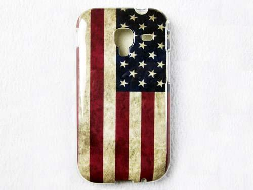 1 x USA UK Flag TPU Back Case Skin Cover For SAMSUNG GALAXY ACE 2 I8160