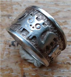silver ring size q 7 4 grams weight marked ecaudor