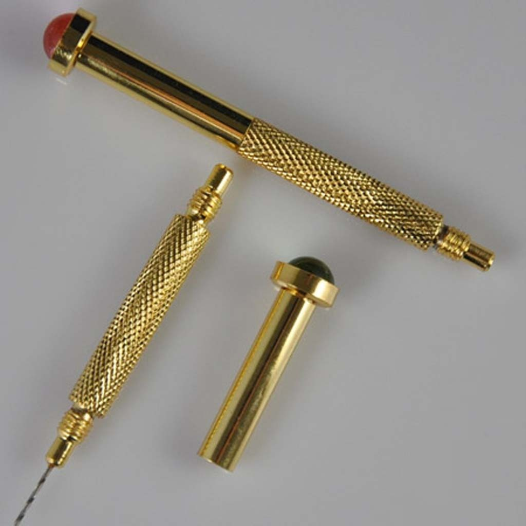 2-x-Hand-Twist-Drill-for-Piercing-Nails-Charm-Dangle-NEW