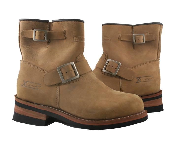 advanced brown engineer motorcycle boots size 9 ebay