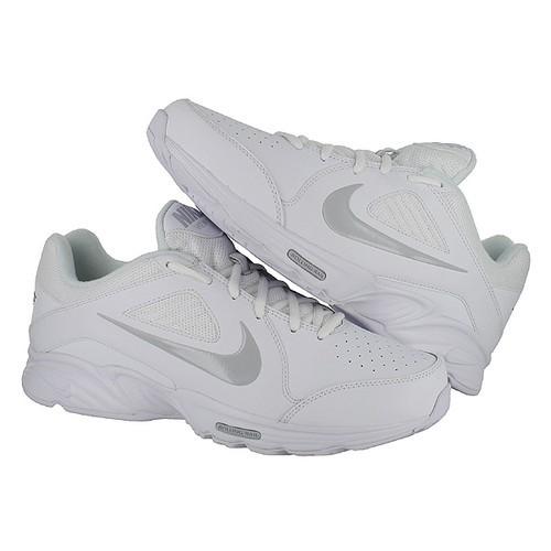 nike view 3 white grey leather slip resistant mens sizes