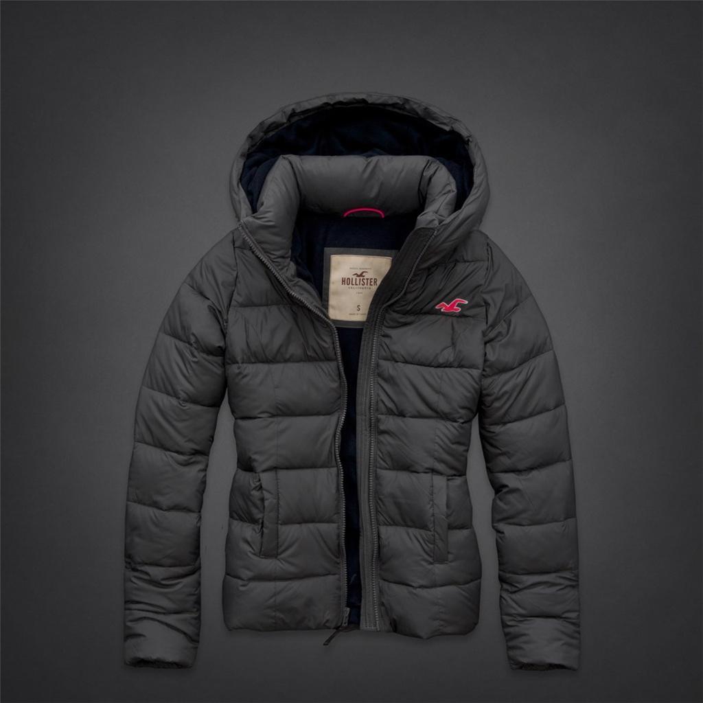 Hollister-NWT-Fall-2013-Ladies-Coronado-Island-Puffer-Jacket-All-Sizes