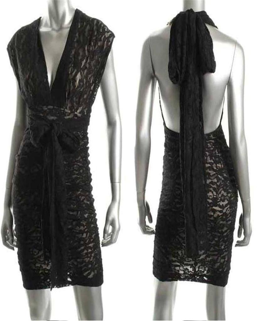 NWOT-Victoria-Secret-The-Lace-Convertible-Dress-3-Colors-Sexy-Wrap-Dress