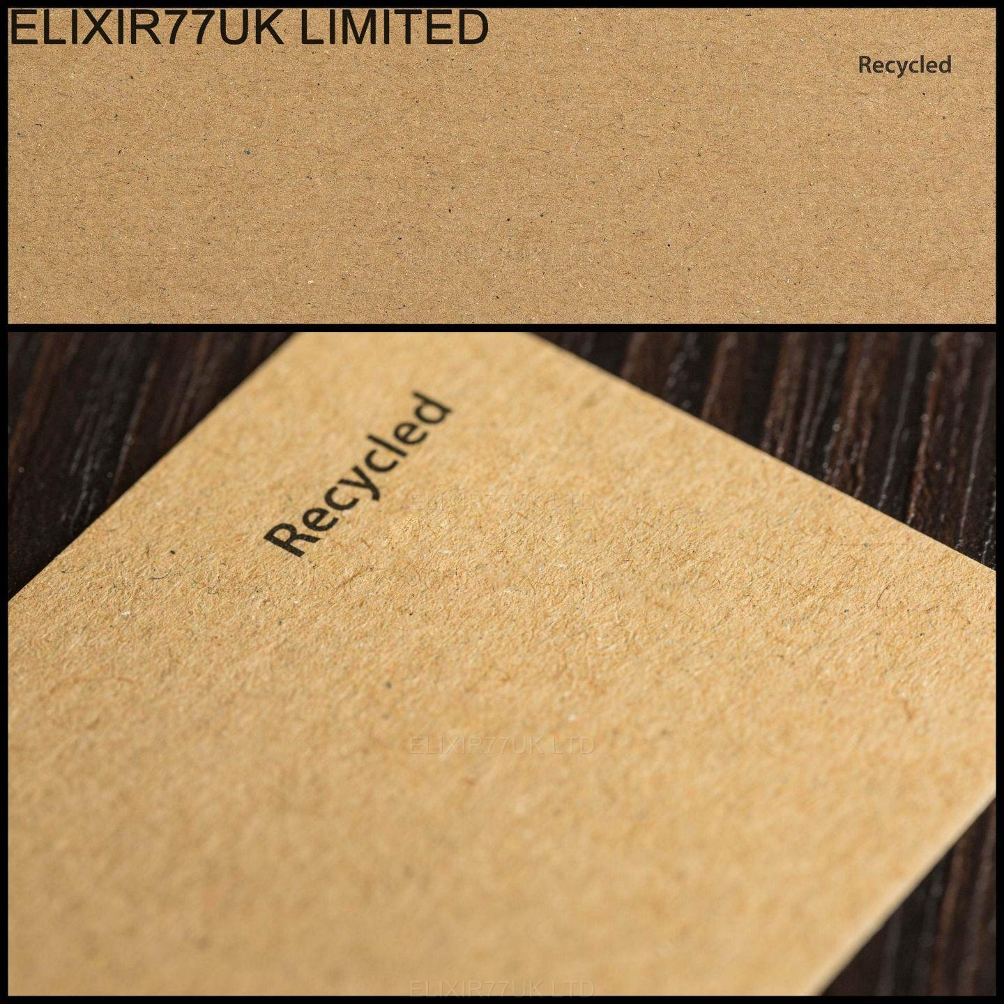 A4 a5 white ivory brown kraft card paper blanks stock for Craft paper card stock