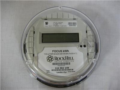 landis gyr focus meter manual