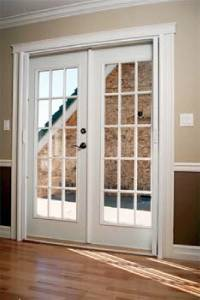 Anderson retractable insect screen for double outswing for Anderson french doors