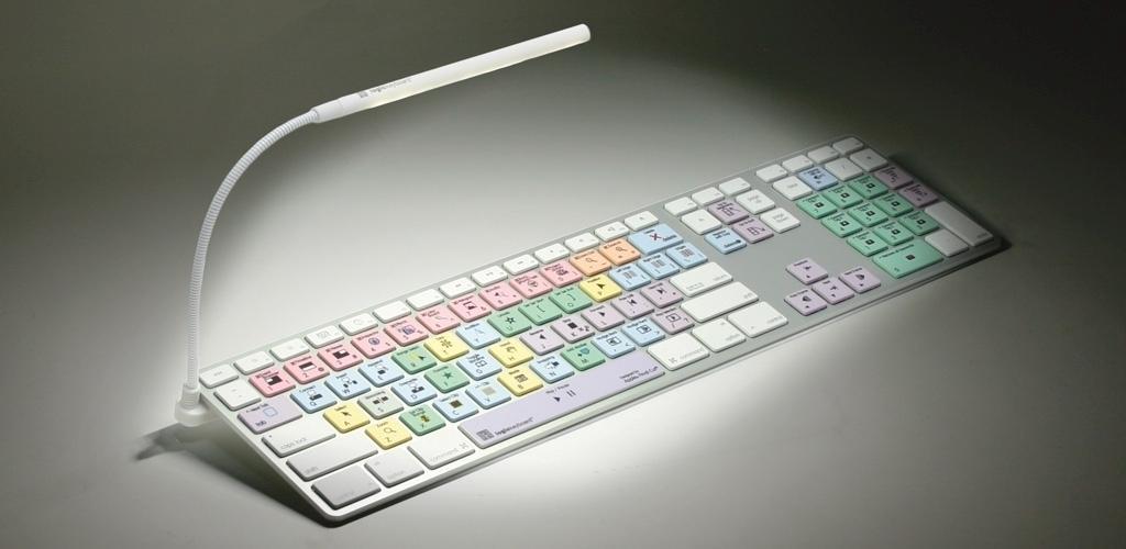 Flexible Neck Clipon 10 LEDS Keyboard Light Compatible