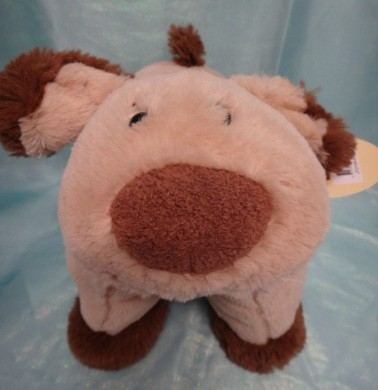 Pillow-Pal-Pets-Cuddly-Blanket-Comfort-Wrap-Baby-Gift-Soft-Plush-Puppy-Toy