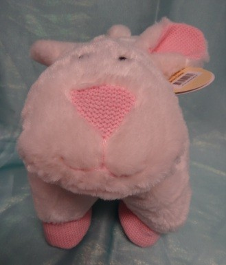 Baby-Girl-Pillow-Pal-Blanket-Comfort-Wrap-Soft-Plush-Toy-Rabbit-Bunny-Pink-New