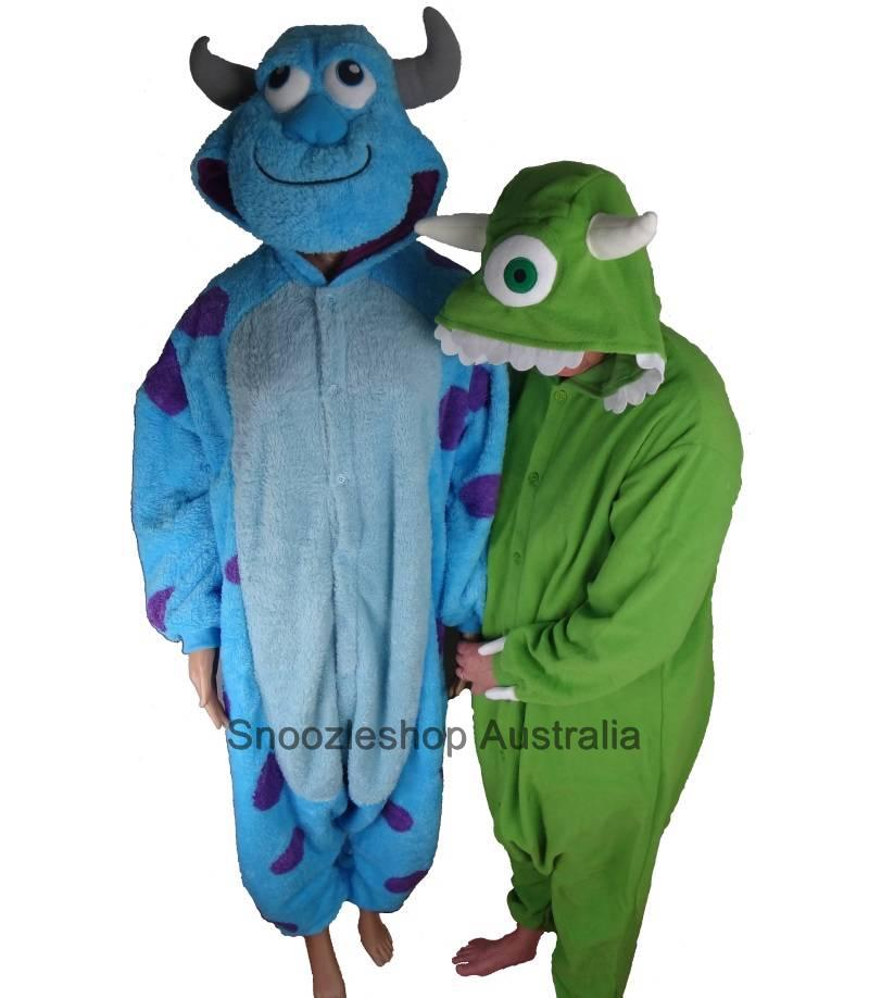 Onesie-Sulley-Mike-Monsters-Inc-Unisex-Animal-Costume-Jumpsuit-Adult-Teenager