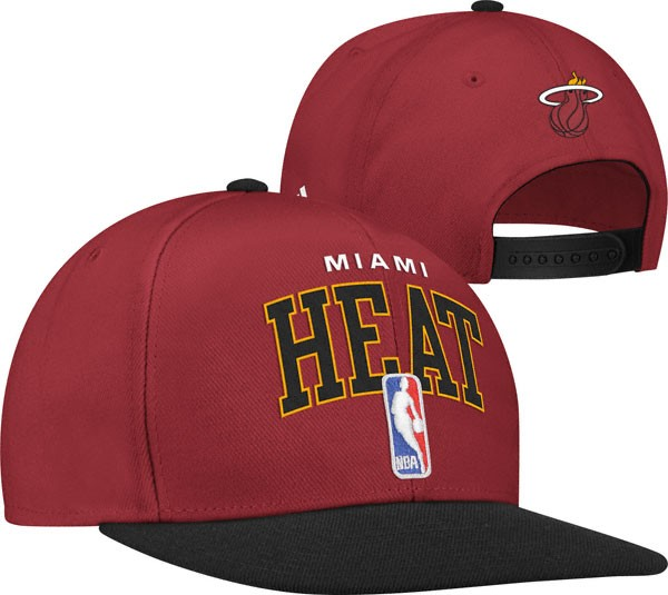 2012-NBA-Draft-Miami-Heat-Script-Snapback-Hat-New-Arrival-100-Authentic