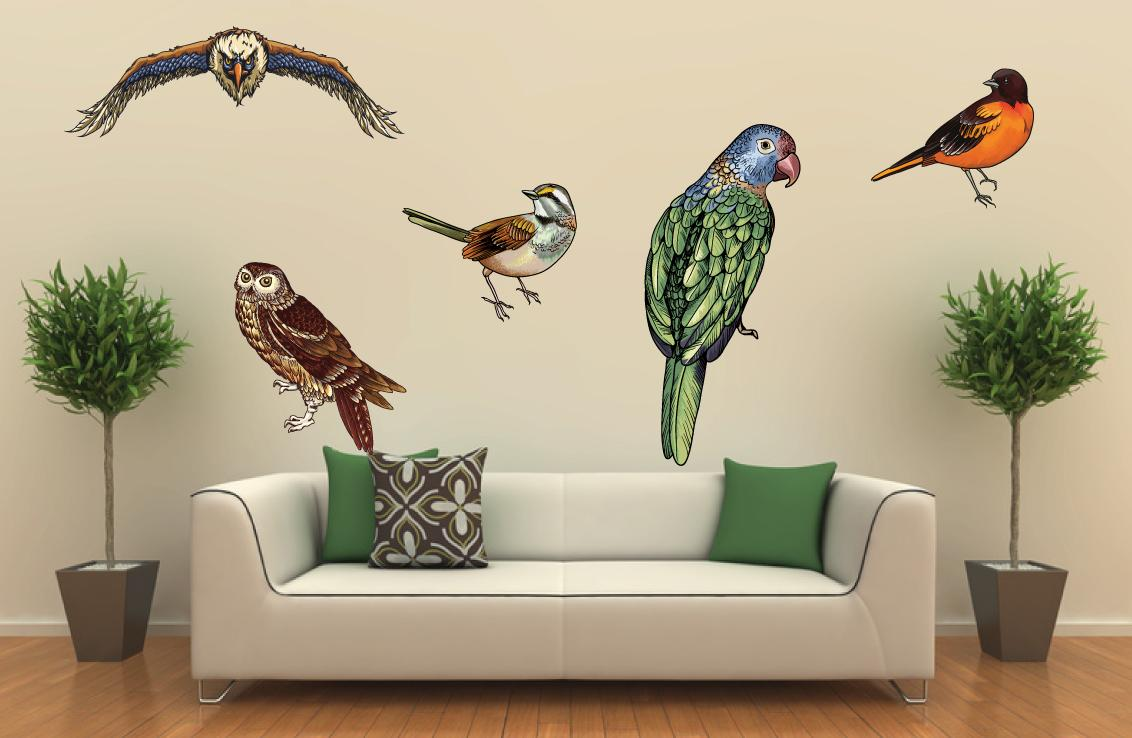 American eagle bird wall art decor decal sticker removable for Eagle decorations home