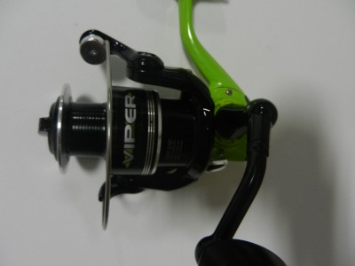 Prototype bass pro shops viper spinning fishing reel 10bb for Bass pro shop fishing reels
