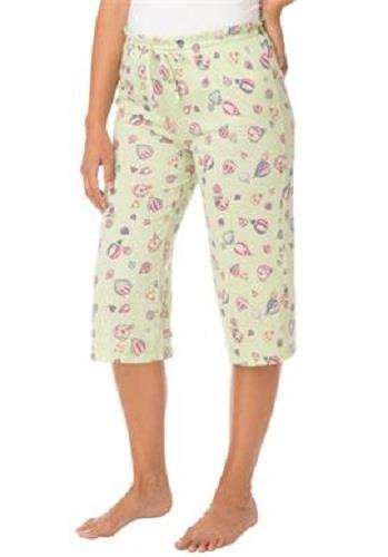 Pajama bottoms with elastic cuffs