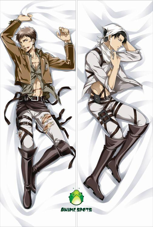 Anime Dakimakura pillow case jr010 Attack on Titan Levi ...