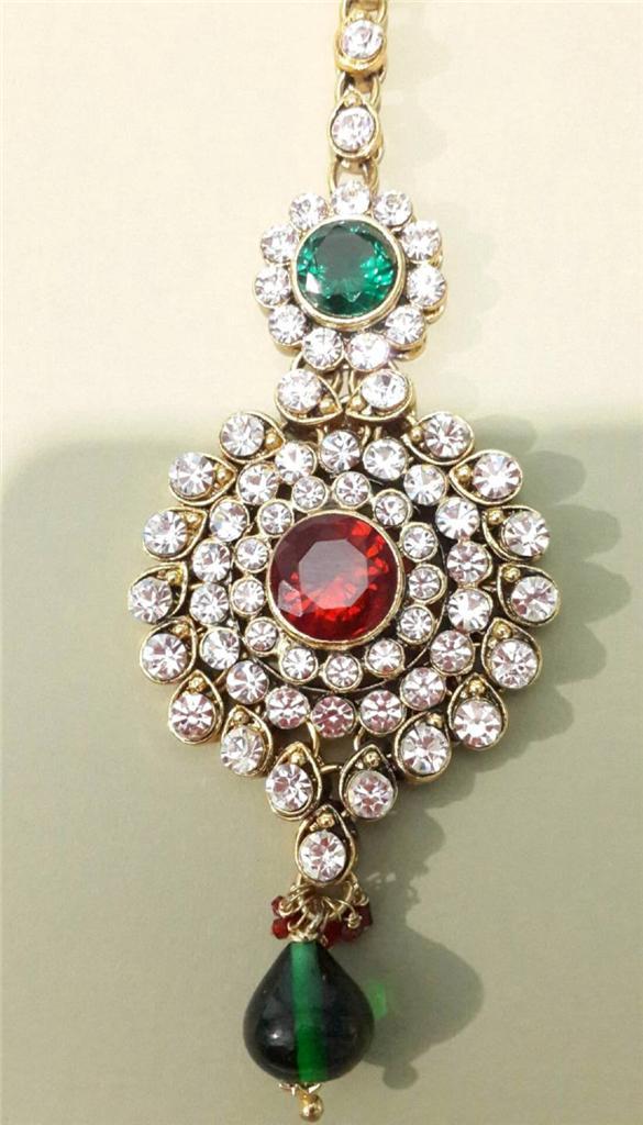 Bollywood-celebrity-traditional-wedding-costume-jewelry-crystal-big ...