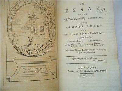 18th century satire essay This was not always true, for before the 18th century, satire was not a fully developed satire essay satire is everywhere.