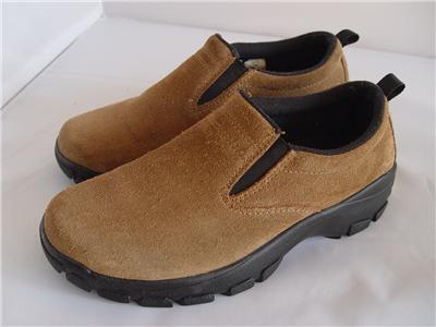 lands end all weather mocs slip on shoes 73773 brown