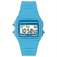 casio light blue