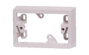 10-x-CLIPSAL-SINGLE-GANG-MOUNTING-BLOCK-ELECTRICAL-WHITE-ELECTRIC