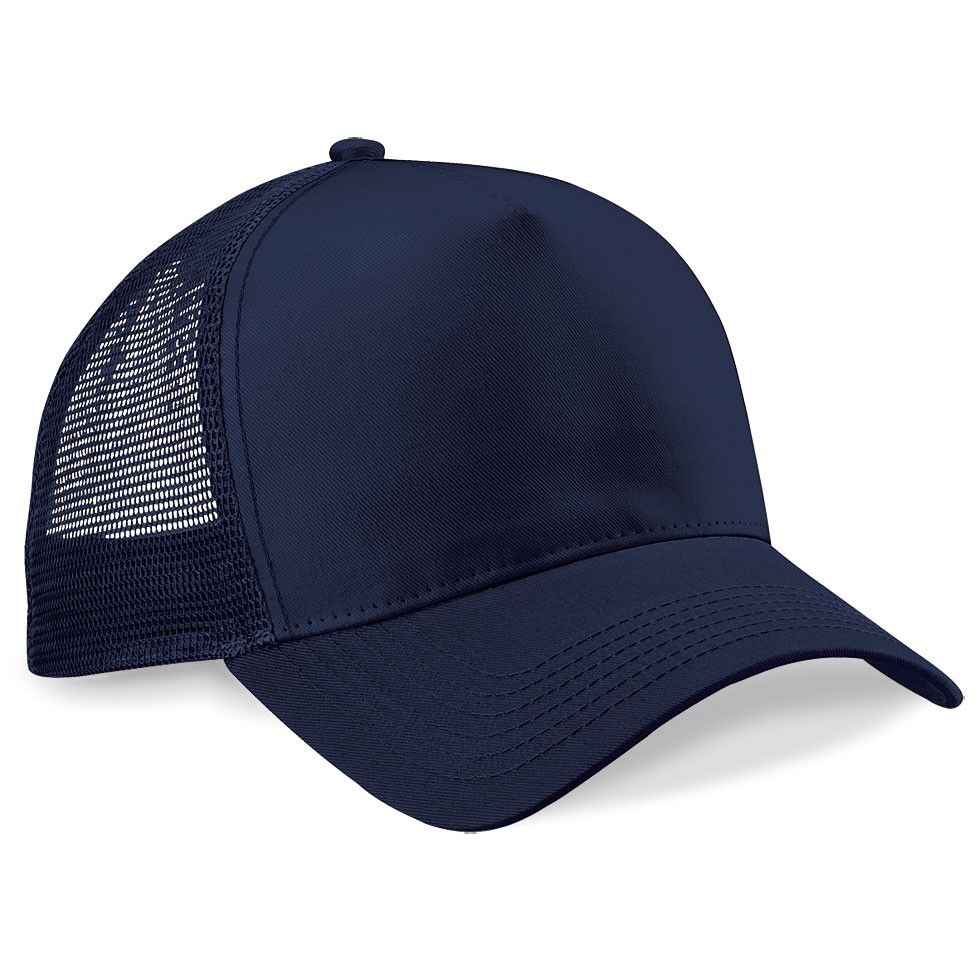 custom printed half mesh trucker cap customised