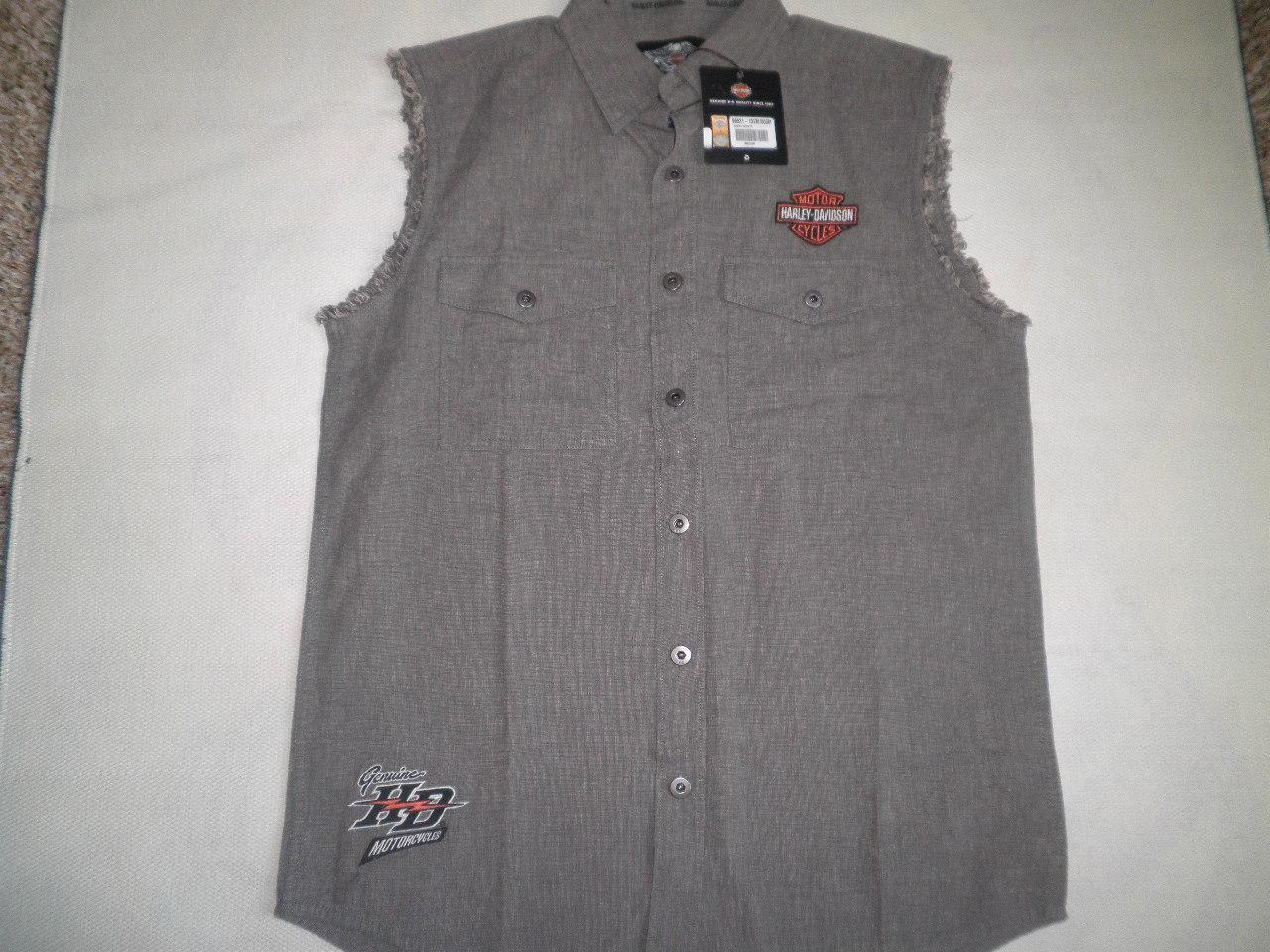 mens sleeveless work shirts