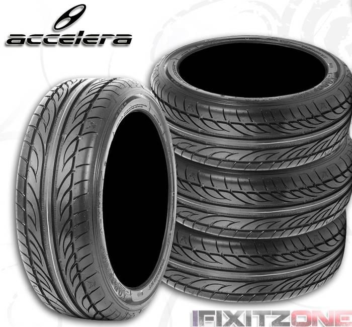 2 accelera tires alpha 225 60r15 96v ultra high. Black Bedroom Furniture Sets. Home Design Ideas