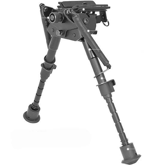 Deben Extreme Precision Bipods Swivel Tilt Rifle Shooting