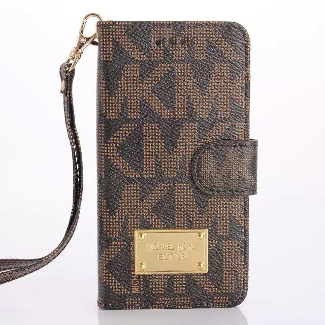 Bnwt michael kors apple iphone 6 6s 4 7 luxury flip case for Housse iphone 6 michael kors
