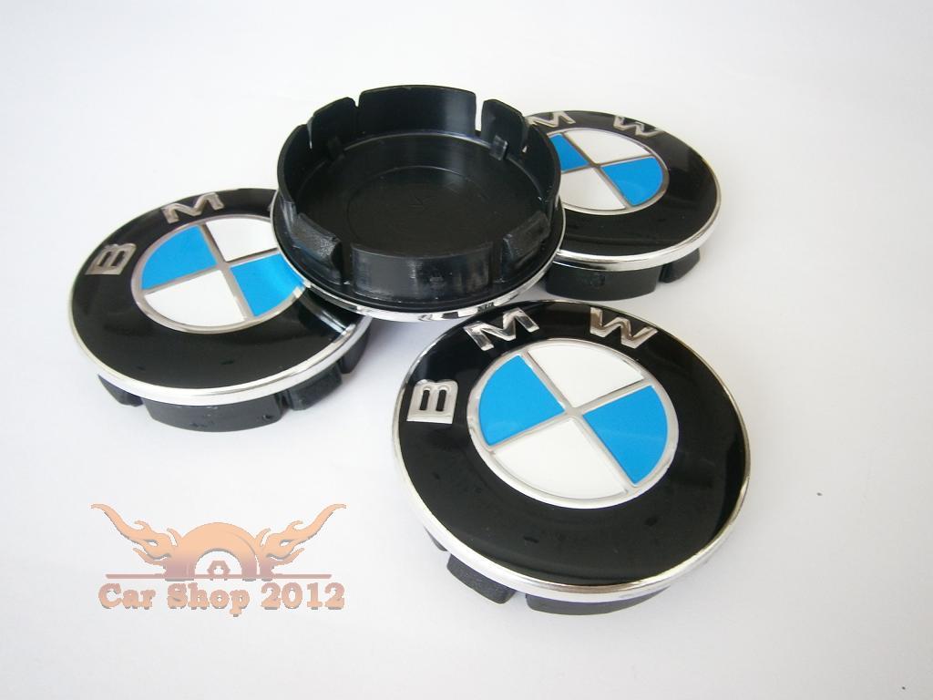 bmw chrome wheel center caps 4 60mm badge alloy rims e34. Black Bedroom Furniture Sets. Home Design Ideas