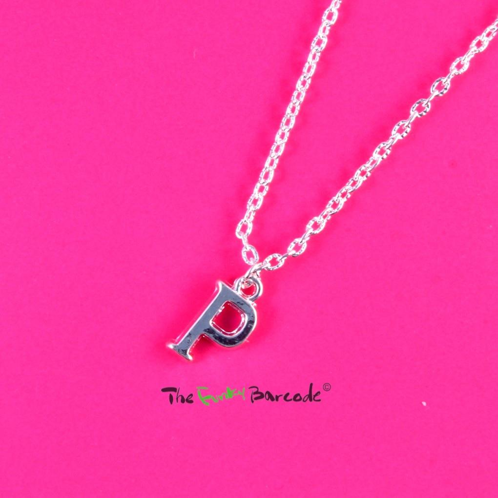 Funky initial letter necklace alphabet quirky cute name for Quirky retro gifts