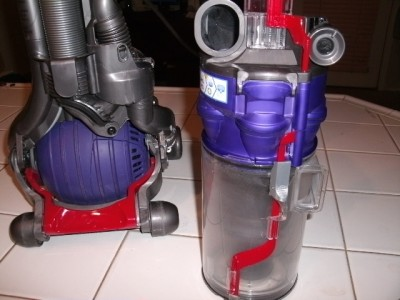 Dyson ball dc24 animal bagless upright vacuum cleaner no for Dyson dc24 brush motor replacement