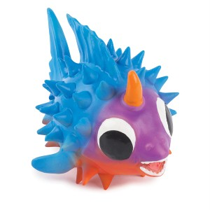 Grriggles sea creature puffer fish latex dog chew toy ebay for Fish dog toy