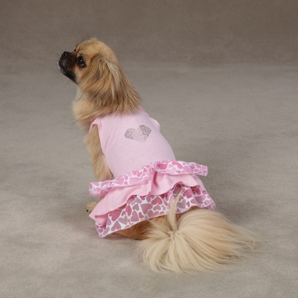 East-Side-Collection-Sweet-Heart-Dog-Dress-Pink