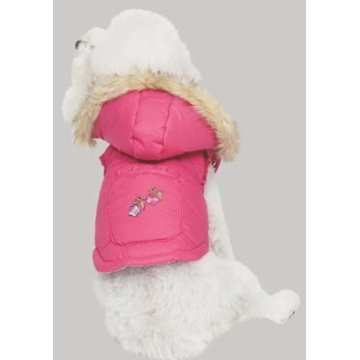 Fashion-Pet-Alps-Hooded-W-Fur-Logo-Dog-Coat-Vest-pink