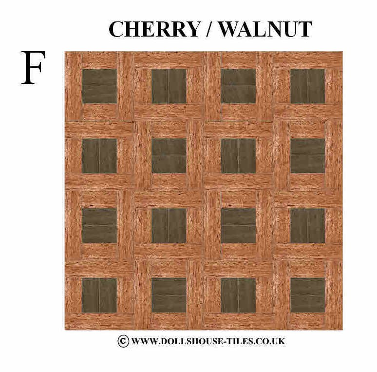 Casa de mu ecas miniaturas en color madera pisos en miniatura azulejos del piso truwood wb7 - Casas en miniatura de madera ...